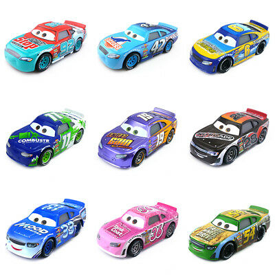 Disney Pixar Cars 3 Racers No.6-No.123 1:55 Diecast Metal Toy Car Model Boy Gift