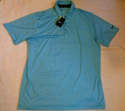 dbd42c27 NIKE BREATHE HEATHER Men's Golf Polo UNIVERSITY BLUE XL 833063 412 ...