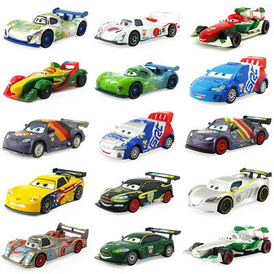 Disney Pixar Cars 2 Racers U.K - U.S.A Toy Car Model 1:55 Diecast Boy Kids Gift