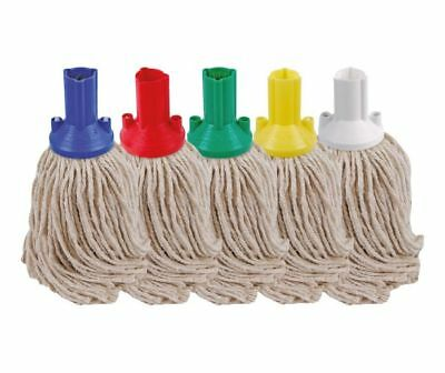 Mop Heads - String, Exel or Washable - Red, Blue, Green or Yellow