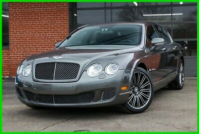 "2009 Bentley Continental Flying Spur Twin Turbo Speed 20"" alloy wheels Fast 2009 Bentley Continental Flying Spur Speed Twin Turbo 12 Cylinder Super Fast"