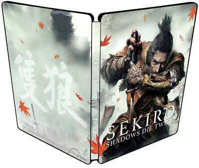 SEKIRO SHADOWS DIE TWICE Steel book Only Geo limited Playstation 4 Japan only