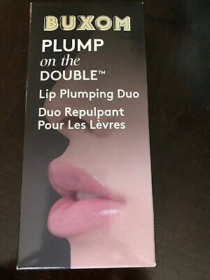 Buxom Plump On The Double Lip Plumping Duo Plumping Lip Liner & Lip Cream New