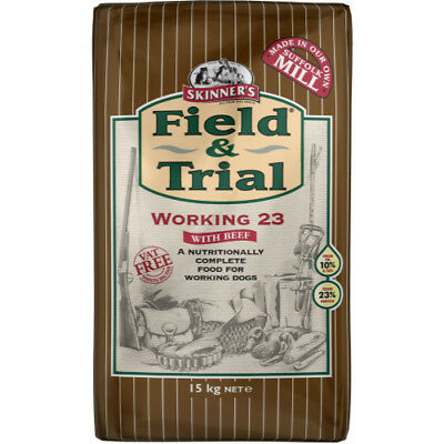2  x 15kg skinners field and trial working 23 complete  dog food £17.49 each!