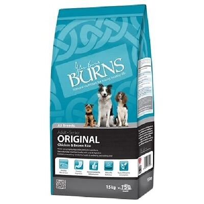 2 x 15kg john burns chicken and brown rice large / giant breed dog food £39.75e