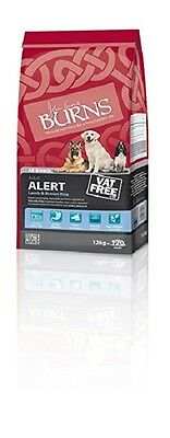 2 x 12kg burns alert lamb /chick and brown rice  hypoallergenic dog food £29.75