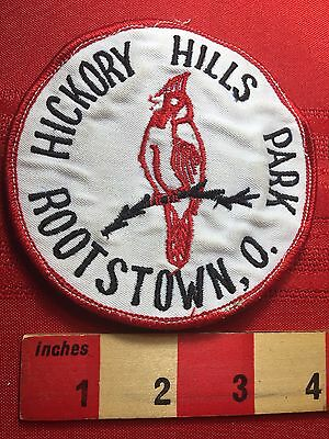 Vtg & AS-IS (1970s /80s Era) HICKORY HILLS STATE PARK ROOTSTOWN OHIO Patch 75Y6