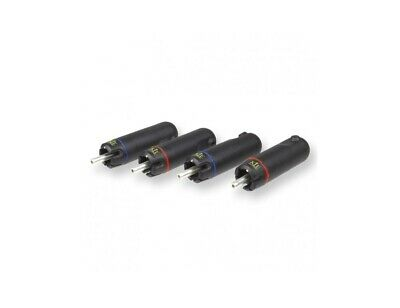 Connettori RCA KLE Innovations Copper Harmony (set di 4)