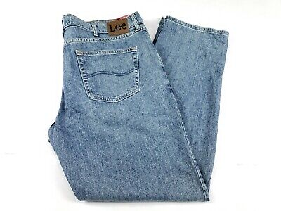 Lee Mens Jeans  40x32 Straight Leg Regular Fit Active Comfort Denim New With Tag