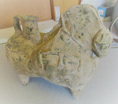 Circa 1St Millenium Bc Ancient Amlash Terracotta Vessel In The Form Of A Horse