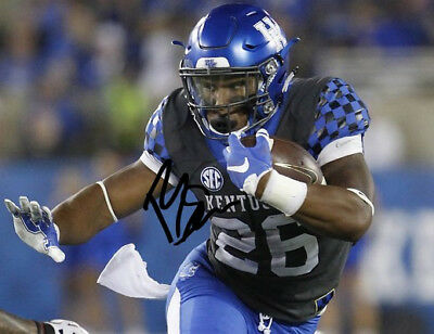 33fa95d4f20 Benny Snell Jr Signed Photo 8X10 Rp Autographed Kentucky Wildcats Running  Back