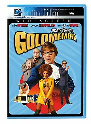 Austin Powers In Goldmember On DVD With Mike Myers Comedy Very Good E13