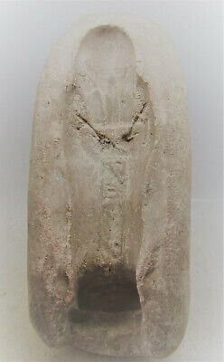 Rare Ancient Egyptian Mould For Faience Ushabti's. Unusual Piece Needs Research