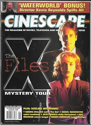 Cinescape Magazine August 1995 (Vf) The X-Files
