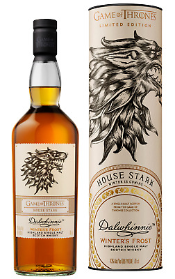 Game of Thrones - Dalwhinnie Winter`s Frost House Stark -  0,7 L -  43% Vol.