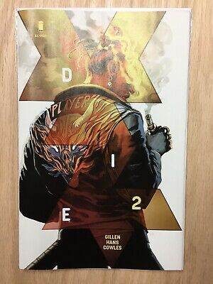 DIE #2 Stephanie Hans First Print VF/NM Image Comics 2019 SOLD OUT L@@K!!