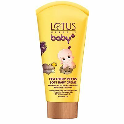 Lotus Herbals Baby+ Feathery Pecks Soft Baby Crème 50grams