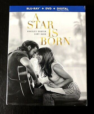 🔥A Star Is Born Blu-ray & DVD 2 Disc-Set (2019) Lady Gaga Ready To Ship!🔥