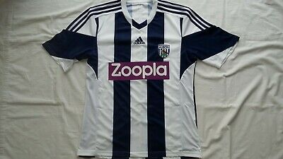 Trikot, Football  Shirt West Bromwich Albion FC, 2013-2014, L, Home, Adidas