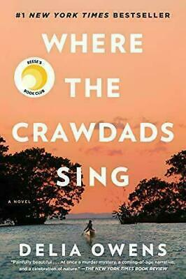 📕Where the Crawdads Sing📗 by  🖊Delia Owens 🖊 2018