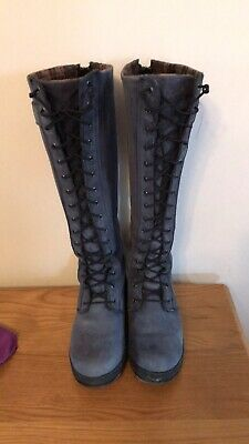Ariat Coniston H20 Insulated Boots Navy 5.5