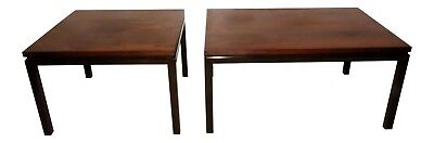 1022-601: Pair of 2 HARVEY PROBBER Mid-Century Rosewood Cocktail or End Tables