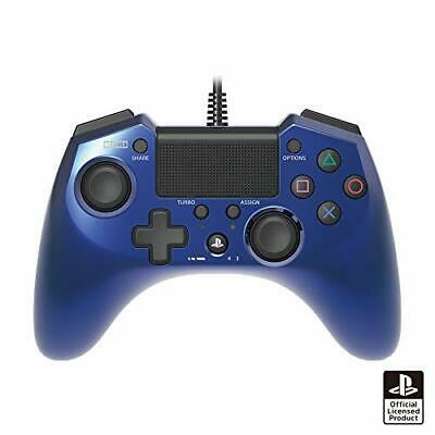 FPS plus Pad Controller Blue PlayStation 4 PS4 Hori Game Japan import New F/S