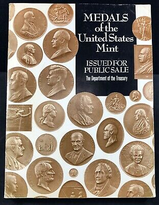 1969 Catalog Medals of the United States Mint Issued for Public Sale