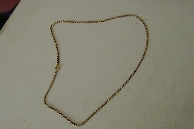 Antique Jewellery,large 9Ct Gold Chain