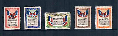 $33.55 Value - DOMINICAN REPUBLIC 1946 NATIONAL ANTHEM * Stamp Sale * MNH NH