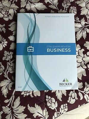 Becker CPA Review BEC V3.0 For Exams Scheduled After March 31, 2017