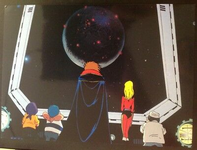 Albator/galaxy express999/ Leiji Matsumoto lot de 8 cartes de collection manga