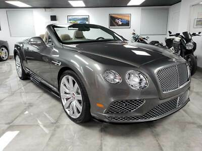 2016 Continental GT V8 S Convertible MINT!! LOW MILES!! 1 OWNER!! CLEAN HIST!! BENTLEY CONTINENTAL GT V8 S!! LOADED!!
