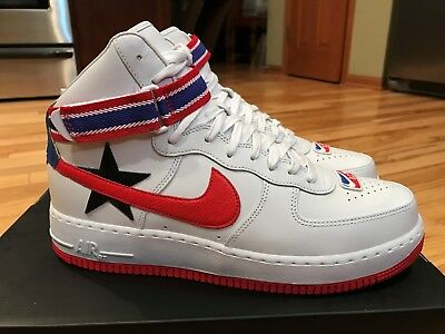 top fashion on feet at in stock SZ 15 NIKE Lab x rt Ricardo Tisci Air Force 1 High AQ3366-100 Off ...