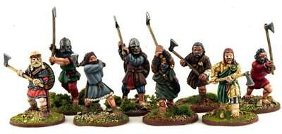 Gripping Beast Saga Mini 28mm Norse Gael Warriors w/Dane Axes Pack MINT