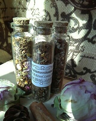 Come To Me Smudge or Incense Blend Roots Hoodoo Wicca Pagan Moon Ritual Spells