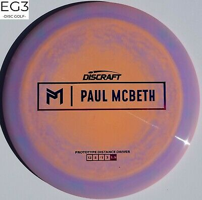 NEW DISCRAFT PROTO Paul McBeth KONG LOT 2/2 *CHOOSE DISC* 173-174g EG3 Disc Golf