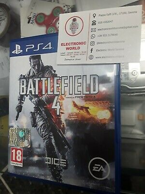 BATTLEFIELD 4  PS4 - ITALIANO - PLAYSTATION 4  usato