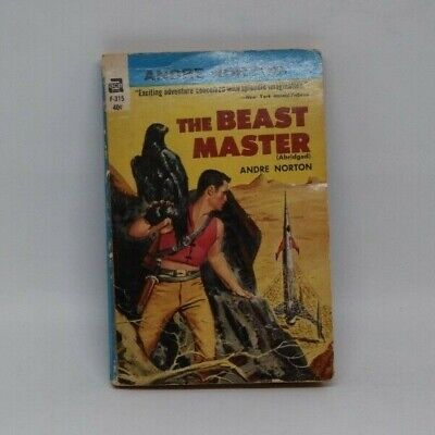 1950s Vintage Paperback Science Fiction Book The Beast Master by Andre Norton