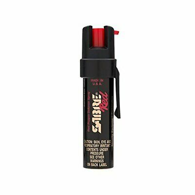 SABRE Red Pepper Spray - Police Strength - Compact Size with Clip Max Protection