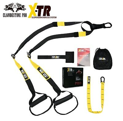 TRX | X-TR Suspension Exercise - Full Body Strength Training,Yoga, MMA  7 COLORS