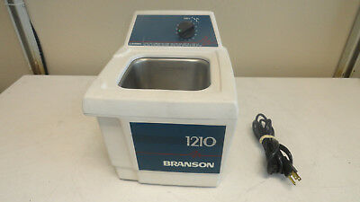 Branson 1210 R-MT Ultrasonic Cleaner - No Lid / Cover