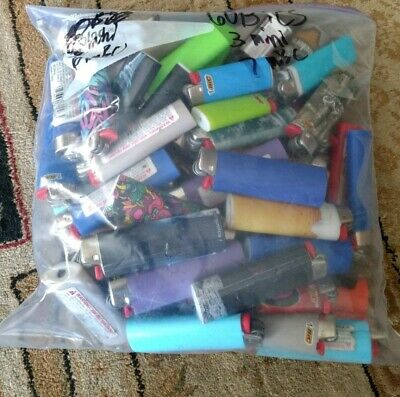 Used Dead Lighters (Bic and cheap lighters)