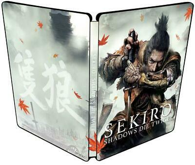 SEKIRO SHADOWS DIE TWICE Steel book Only Geo limited Playstation4