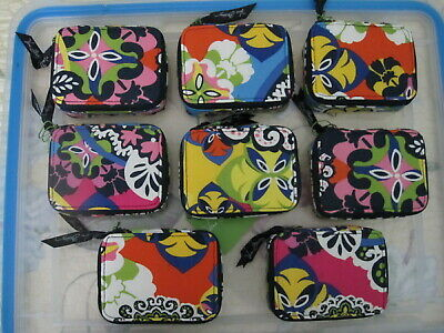 Vera Bradley NWT Travel Pill Case in  Rio ~ 7 day Meds +extra day