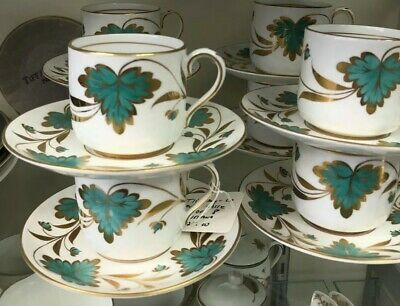 Beautiful TIFFANY & Co. Demitasse Set 8 Pcs. Made In England