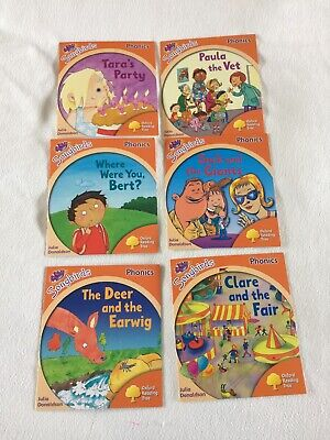 Oxford Reading Tree Songbirds Phonics Level 6, Six Books Collection Complete Set