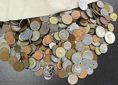 World Coin Lot 1 pound One lb Free Priority Shipping bulk foreign coins