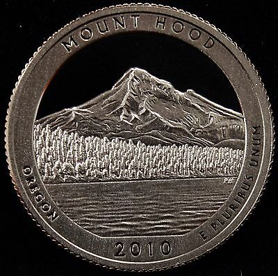 2010-S ATB Parks Quarter Mount Hood National Gem Proof DCAM CN-Clad Coin