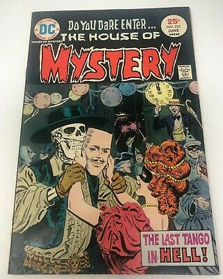 VINTAGE Dc LOT of 4 Comics House of Mystery issues 215 217 221 232